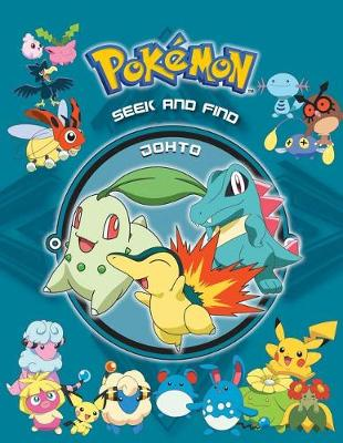 Pok�mon Seek and Find - Johto by Anne Ishii