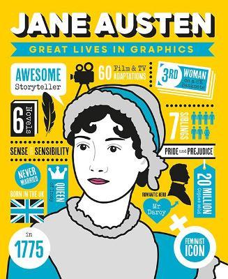 Great Lives in Graphics: Jane Austen book