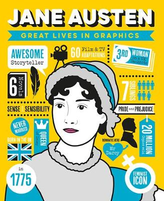 Great Lives in Graphics: Jane Austen by GMC Editors