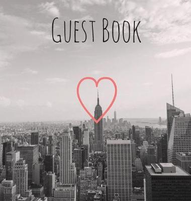 Guest Book, Visitors Book, Guests Comments, Vacation Home Guest Book, Holiday Home, Beach House Guest Book, Comments Book, Visitor Book, Nautical Guest Book, Bed & Breakfast, Retreat Centres, Family Holiday Guest Book (Hardback) by Lollys Publishing