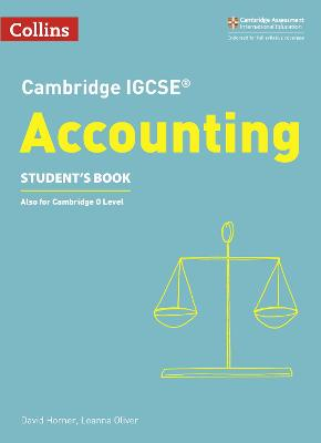 Cambridge IGCSE (R) Accounting Student's Book by David Horner