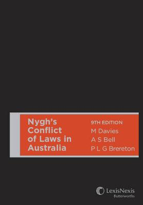 Nygh's Conflict of Laws in Australia by M Davies