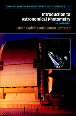 Introduction to Astronomical Photometry by Edwin Budding