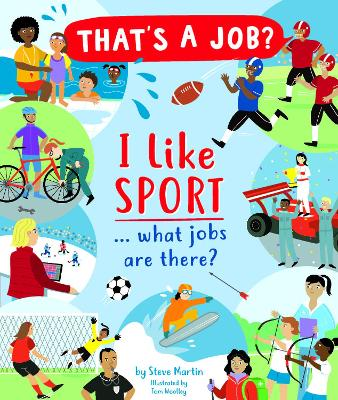I Like Sports... what jobs are there? by Steve Martin