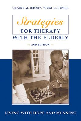 Strategies for Therapy with the Elderly book