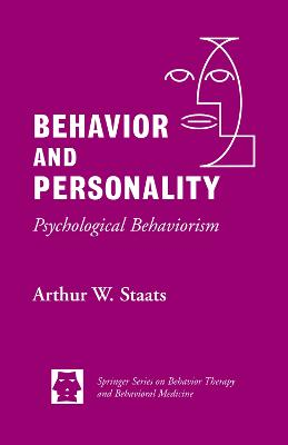 Behavior and Personality book