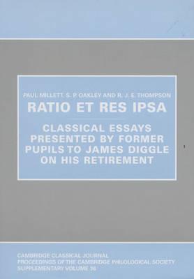 Ratio et res ipsa by S. P. Oakley