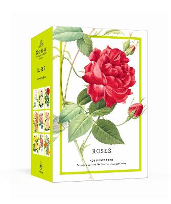 Roses: 100 Postcards from the Archives of The New York Botanical Garden book