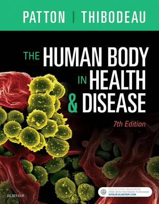 The Human Body in Health & Disease - Softcover by Dr. Kevin T. Patton