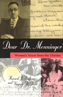 Dear Dr. Menninger by Karl Menninger