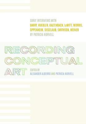 Recording Conceptual Art book