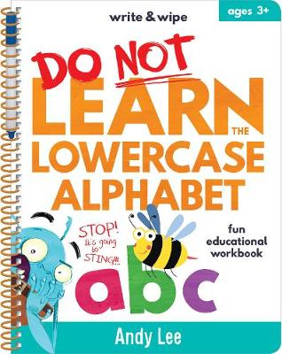 Write & Wipe - Do Not Learn Lowercase Alphabet by Andy Lee