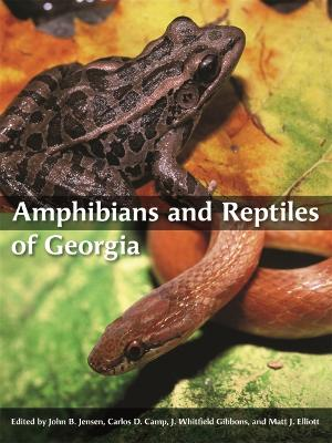Amphibians and Reptiles of Georgia book