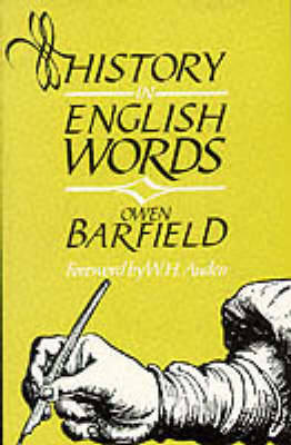 History in English Words by Owen Barfield