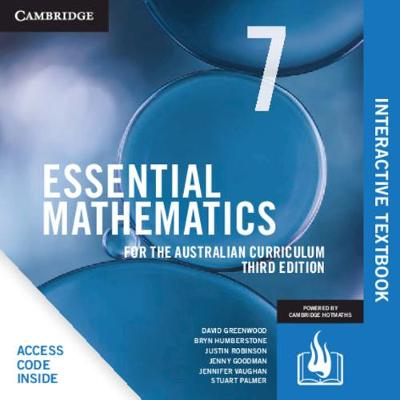 Essential Mathematics for the Australian Curriculum Year 7 Digital Card book