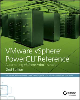 VMware vSphere PowerCLI Reference book