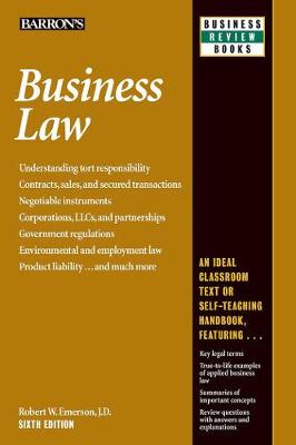 Business Law by Robert W. Emerson