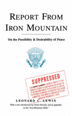 Report From Iron Mountain book