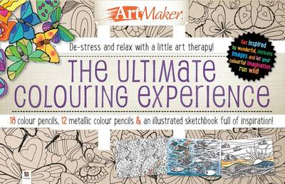 Art Maker Ultimate Colouring Experience 30-Pencil Set by