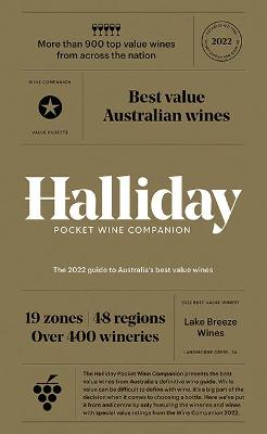 Halliday Pocket Wine Companion 2022: The 2022 Guide to Australia's Best Value Wines book