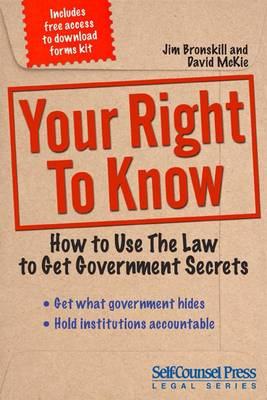 Your Right to Know by Jim Bronskill