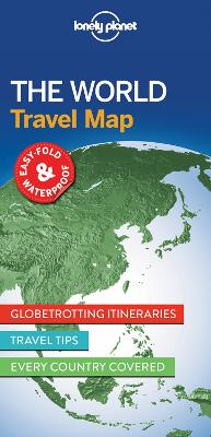 The Lonely Planet The World Planning Map by Lonely Planet