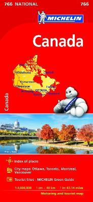 Canada - Michelin National Map 766: Map by Michelin