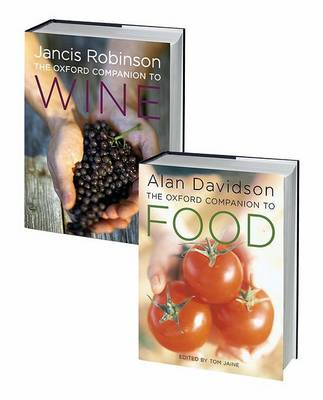 The Oxford Companion to Food and the Oxford Companion to Wine Set by Alan Davidson