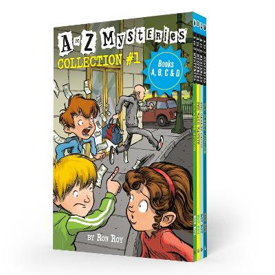 A to Z Mysteries Boxed Set Collection #1 (Books A, B, C, & D) book
