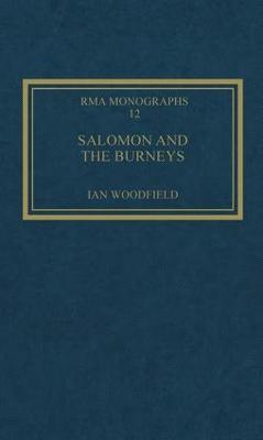 Salomon and the Burneys by Ian Woodfield