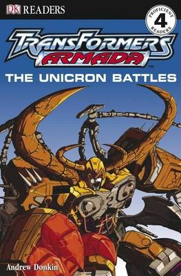The Unicron Battles by Andrew Donkin
