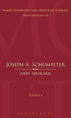 Joseph A.Schumpeter by Dr. John Medearis