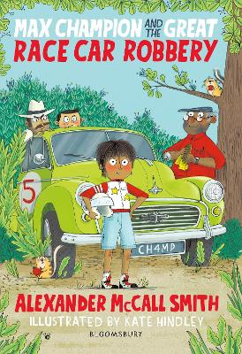Max Champion and the Great Race Car Robbery book