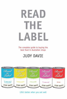 Read The Label by Judy Davie