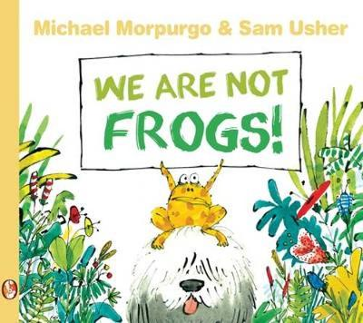 We are Not Frogs book