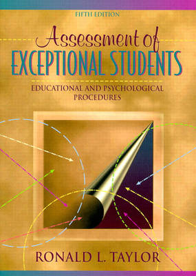 Assessment of Exceptional Students by Ronald L. Taylor