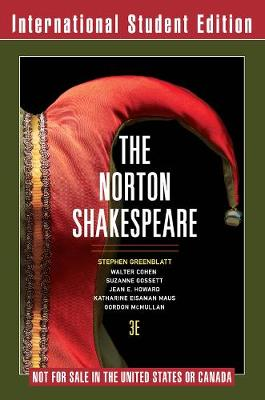 Norton Shakespeare 3E International Student Edition with Registration Code by Stephen Greenblatt