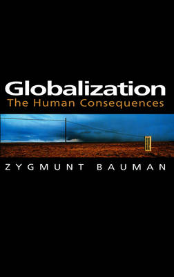 Globalization by Zygmunt Bauman