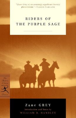 Mod Lib Riders Of The Purple Sage book