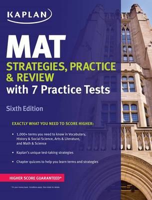 Mat Strategies, Practice & Review book