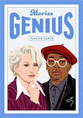 Genius Movies: Genius Playing Cards by Bijou Karman