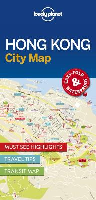 Lonely Planet Hong Kong City Map by Lonely Planet