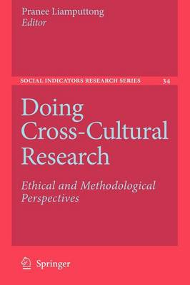 Doing Cross-Cultural Research by Pranee Liamputtong