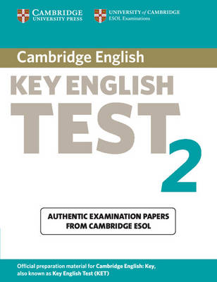 Cambridge Key English Test 2 Student's Book book