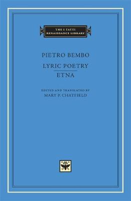 Lyric Poetry. Etna by Pietro Bembo