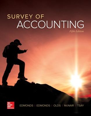 Survey of Accounting by Thomas Edmonds
