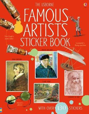 Famous Artists Sticker Book by Megan Cullis