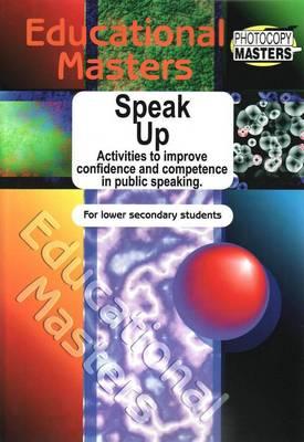 Speak up by Sally Murphy