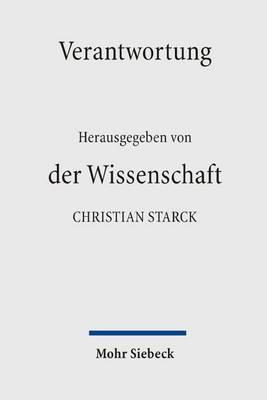 Verantwortung Der Wissenschaft by Gerhard Gottschalk