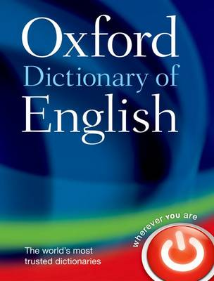 Oxford Dictionary of English book